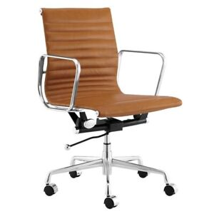 Office Chair ErgoDuke Eames Classic Replica Low Back Ribbed