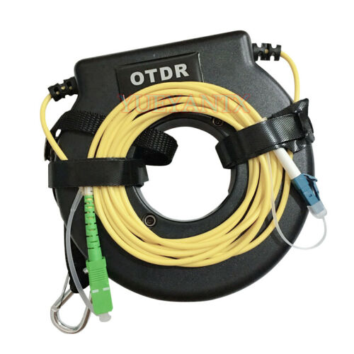 1000M Mini OTDR Launch Cable Box Fiber Ring SC APC-LC UPC FC ST LC SM G652D
