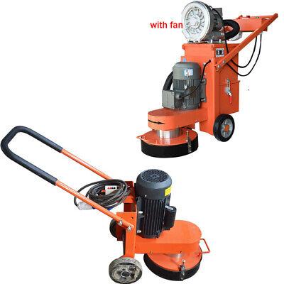 220v Concrete Floor Grinder Ground Polishing Machine With Discs Fanno Fan