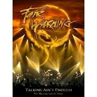 "FAIR WARNING ""TALKING AINT ENOUGH"" 2 DVD NEW! comprar usado  Enviando para Brazil"