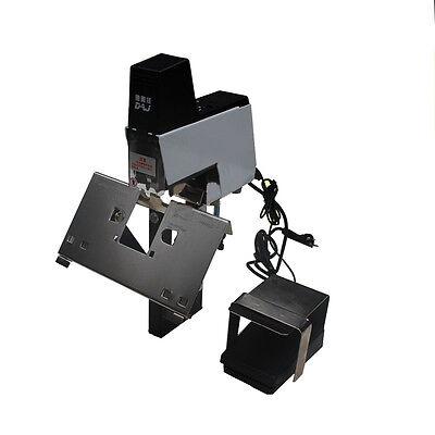 110v Electric Stapler Flat And Saddle Binder Machine Book Binding Machine