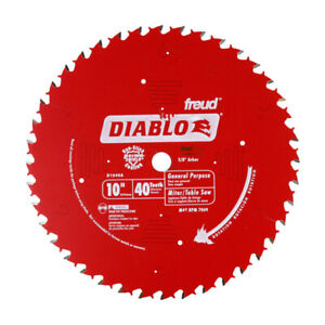 NEW - Freud Diablo Blade 10 in. Mitre or Table Saw