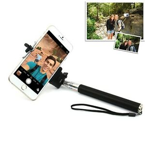 handheld self portrait selfie stick extendable monopod holder for iphone 6 plus. Black Bedroom Furniture Sets. Home Design Ideas