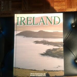 Book on Ireland. Hard cover. Over 200 pages