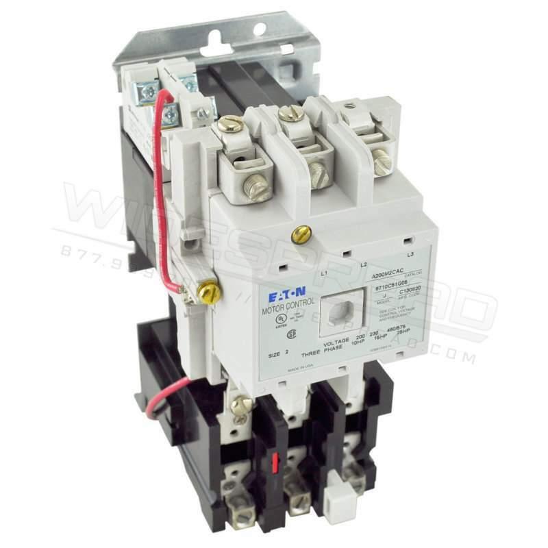 A200M2CAC Cutler Hammer 600V 45A A200 Series A200 Motor Control Motor Starter