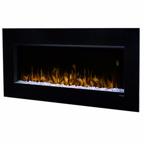 Dimplex 43-In Nicole Wall Mount Electric Fireplace - DWF3651