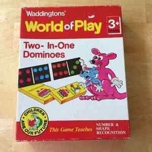 Board Game - Waddingtons Two-In-One Dominoes