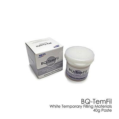 Dental Meta Bq-tempfill Md Temp Temporary Filling Material White 40 Grams Jar