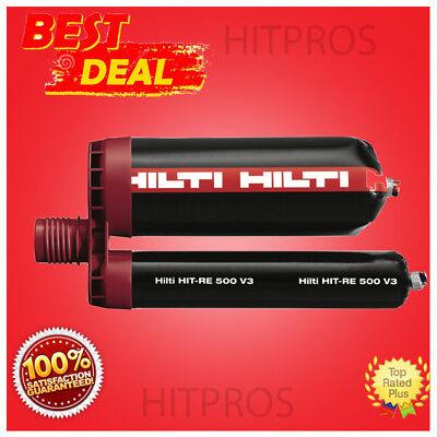 Hilti Hit-re 500 Mc Injectable Mortar-epoxy-free Hilti Pd 5 Laser Box Of 25