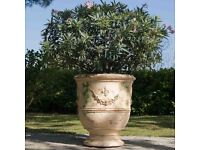 Anduze Terracotta Garden Plant Pot/ Planter hand-made from South of France