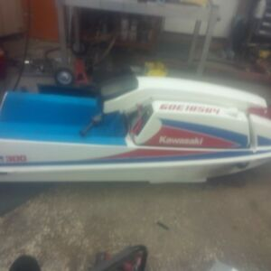 Kawasaki js 300 stand up jet ski great condition