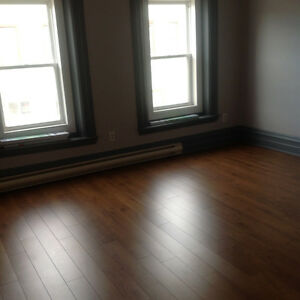 Bright one bedroom apt. Heat and lights included.  City center.