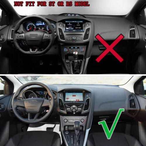 Anti-Slip Dash Mat Cover for Ford Focus 3 MK3 2012-2018 Dashboard Dash Mesh Pad