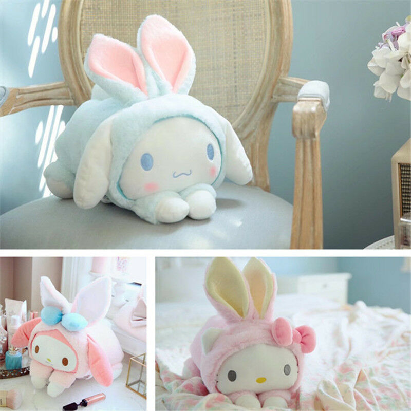 My Melody Plush Dolls Anime Sanrio Cinnamoroll Soft Kids Toys Girls Gifts Pillow
