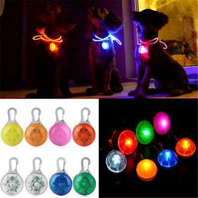 Lovely Fun Pet Dog Cat Puppy LED Flashing Collar Safety Night Light Pendant - Fun Dog Collars