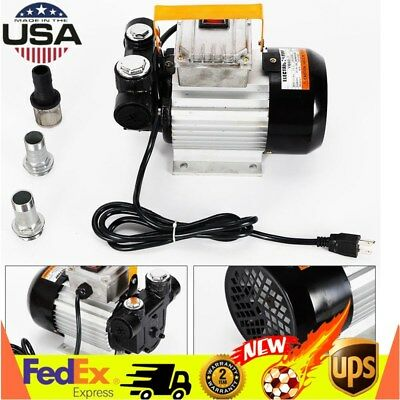 Self Priming Electric Oil Pump Transfer Fuel Diesel 110v Ac 16gpm 2800rm Usa