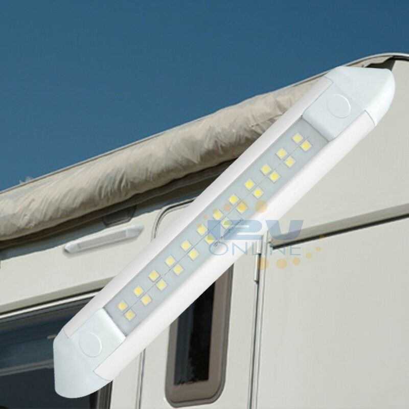 """12Volt 13W 21.65"""" LED Awning Light RV Caravan Camper"""