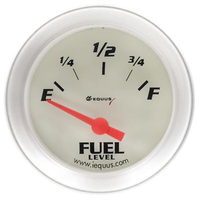 Equus Fuel Level Gauge 8362; 8000 Series 0 to 90 Ohms 2-1/16