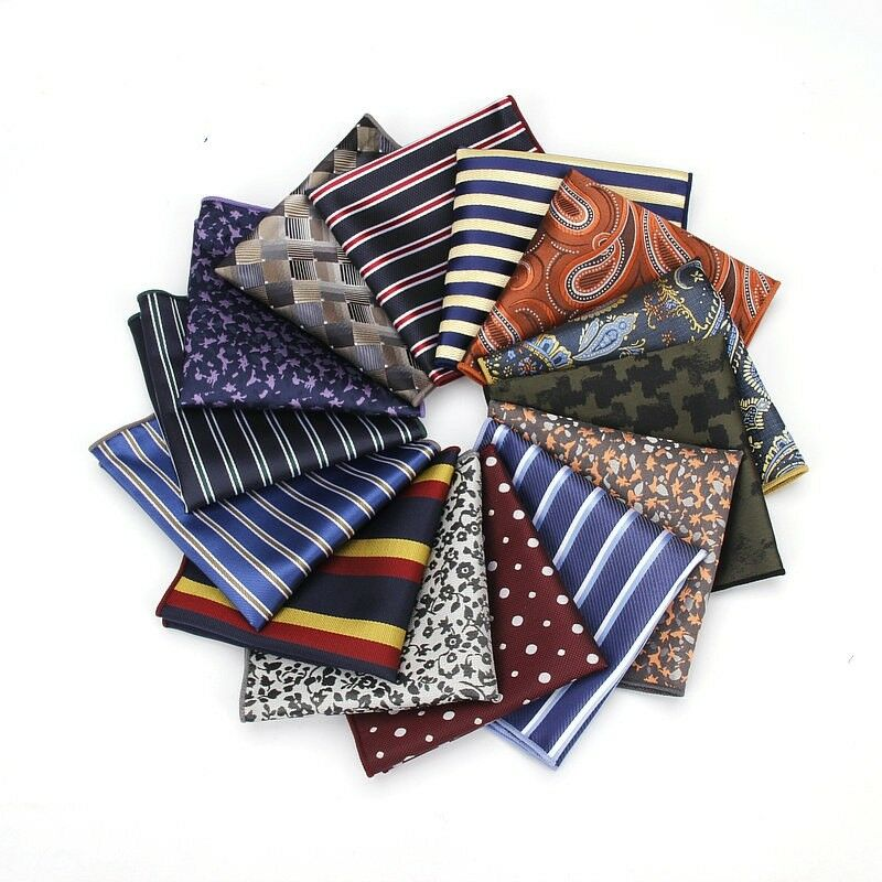fazzoletti da taschino uomo pochette elegante foulard varie fantasie e colori