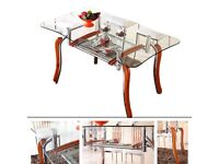 Dining Table Furniture Room Set GLASS TABLE