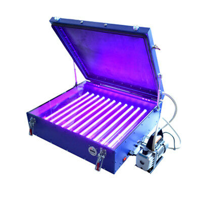Screen Printing 6070 Vacuum LED Exposure Unit Precise Screen 24*26 In Pump Out for sale  Rancho Cucamonga