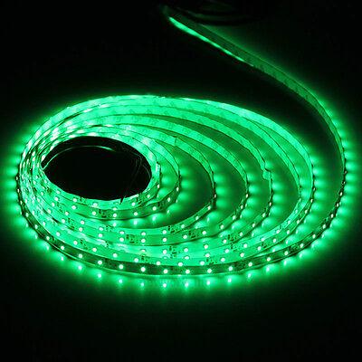 3528 5m 500cm Green 300 LED SMD Flexible Light Strip Lamp DC 12V on Rummage