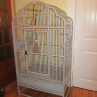 LARGE VICTORIAN BIRD CAGE      Like New Condition