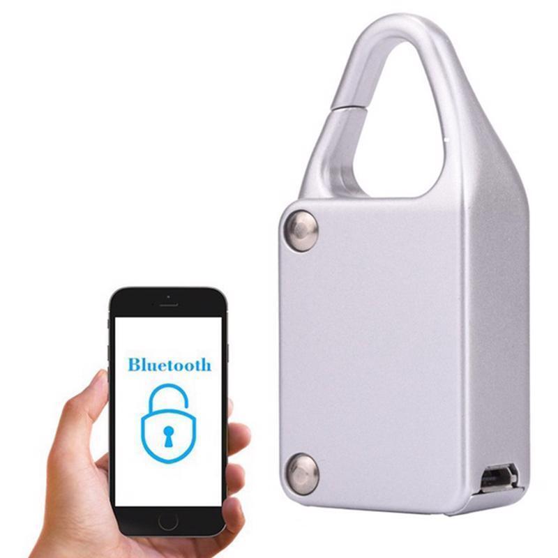 Smart Bluetooth Lock Waterproof Keyless Remote Control Locke