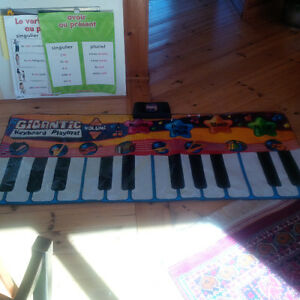 Piano Playmat