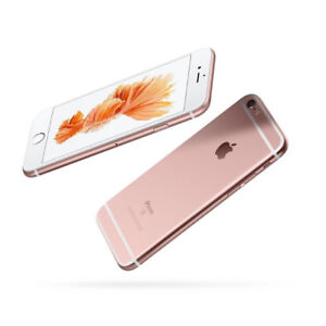 iPhone 6S Rose Gold 16GB Fido with Class Screen Protector on.
