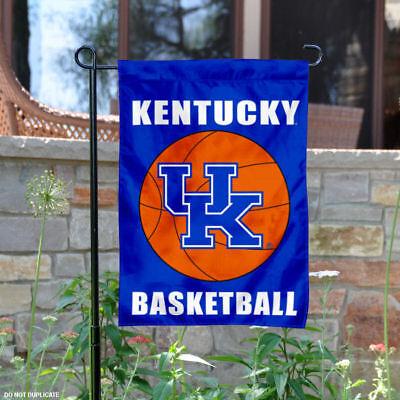 Kentucky Yard - Kentucky UK Wildcats Basketball Garden Flag and Yard Banner
