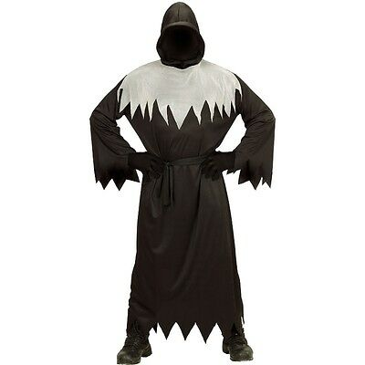 Grim Reaper Ghoul S (48) Horror Sensenmann Tod Herren Kostüm Halloween - Herr Grim Kostüm