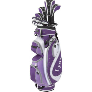 Lynx Lady Regalia 17-Piece golf club set