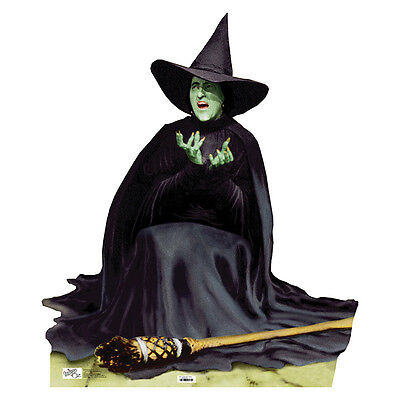 WICKED WITCH MELTING Wizard of Oz Lifesize CARDBOARD CUTOUT Standee Standup