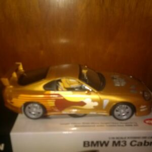 1/18 Diecast Fast and Furious Toyota Supra.
