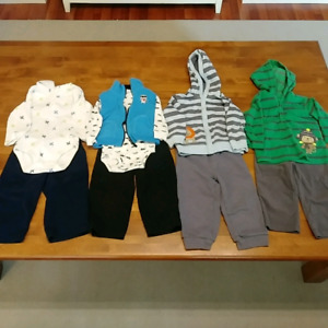 Lot of boys 18 month outfits