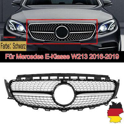 Kühlergrill Diamant Schwarz Für Mercedes E-Klasse W213 16-18 Ohne Loch Kamera