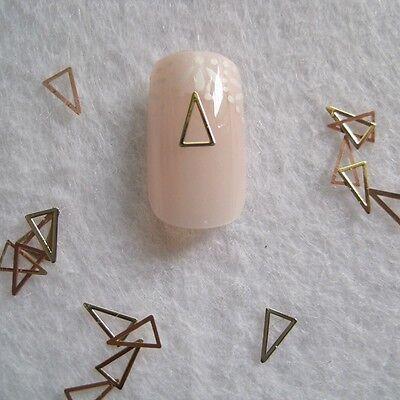 100pcs Cute MS-269-2 Gold Nail Art Metal Sticker Nail Art Decoration #15 on Rummage