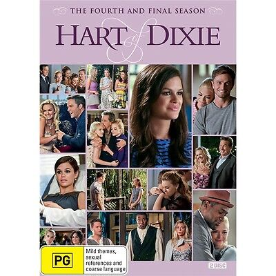 HART OF DIXIE-Season 4-Region 4-New AND Sealed-2 Dics Set-TV Series