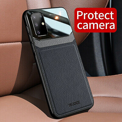 For Samsung Galaxy S20 Ultra S20 Plus Case Mirror Protect Camera Hybrid Cover