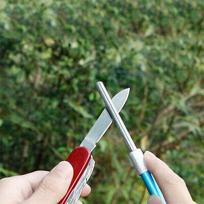 Diamond Grit Sharpener Rod Pen-File Hunting Kitchen Knife Fish Hook Sharpn VFO (Diamond-grit)