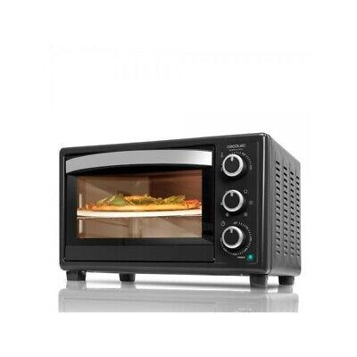Cecotec Horno de convección con piedra para pizza.Multifunción de sobremesa con