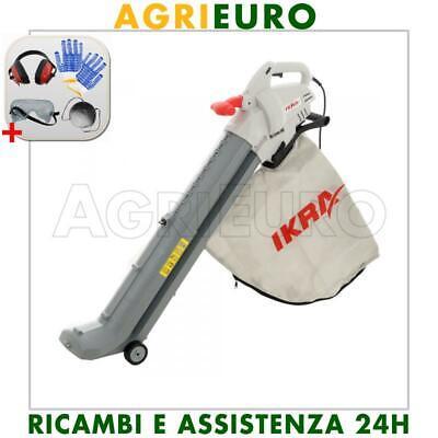 Soffiatore aspiratore per foglie IKRA IBV 2800 E - potenza 2800 W