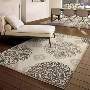 Three Posts Ivory Area Rug (9'x13')