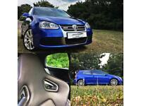 Volkswagen Golf 3.2 V6 4Motion 2008 R32 V6 MANUAL RECARO BUCKET BLUE 3 Door 3dr