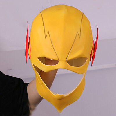 The Flash Reverse-Flash Harrison Helmet Halloween Full Face Latex Mask - Harrison Halloween