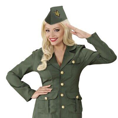 Militär Schiffchen f. Damen & Herren Armee Soldaten Hut Mütze Kappe Kostüm #4111