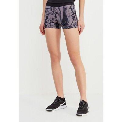 "Womens NIKE PRO HYPCL 3"" Shorts Size Medium  889660-684. Printed Marble"