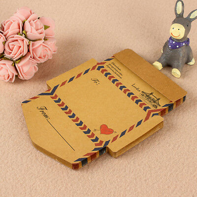 45pcs Vintage Kraft Paper Envelope Memo Pads Kawaii Stationery Sticky Notes Hot