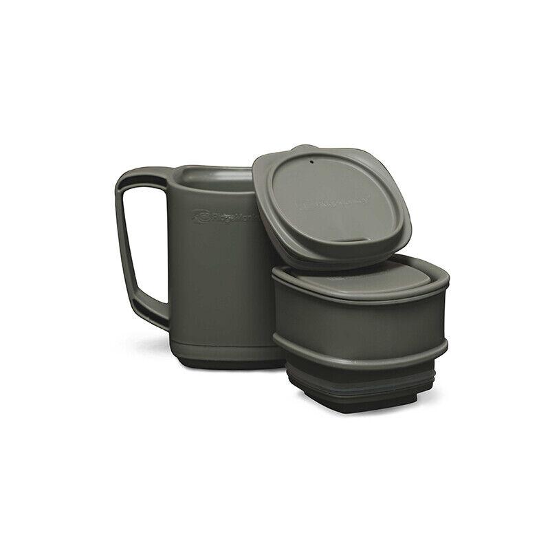 Ridgemonkey ThermoMug DLX Camping Brew Mug Set - Green
